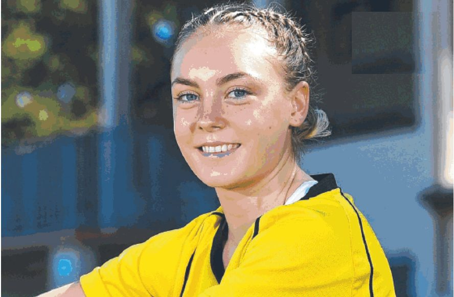 Photo of Alanna Fisher copyright The Northern District Times 14 Feb 2018