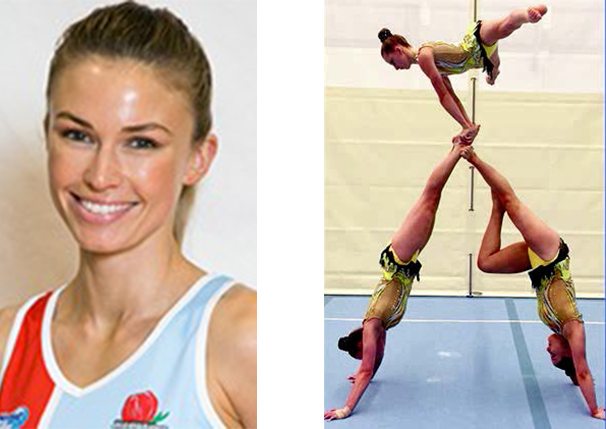 Photo of Emily Keenan, Kate Barry, Eloise Dwyer and Millie Puckeridge copyright NSW Netball and TWT