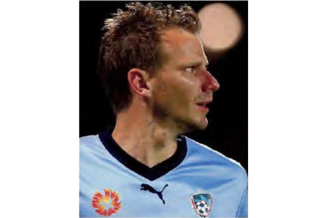 Photo of Alex Wilkinson courtesy Sydney FC