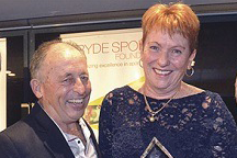 Photo of Graham and Robyn Churchill