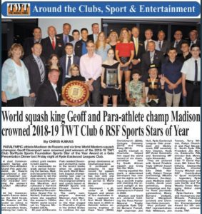 The Weekly Times 8 May 2019 article