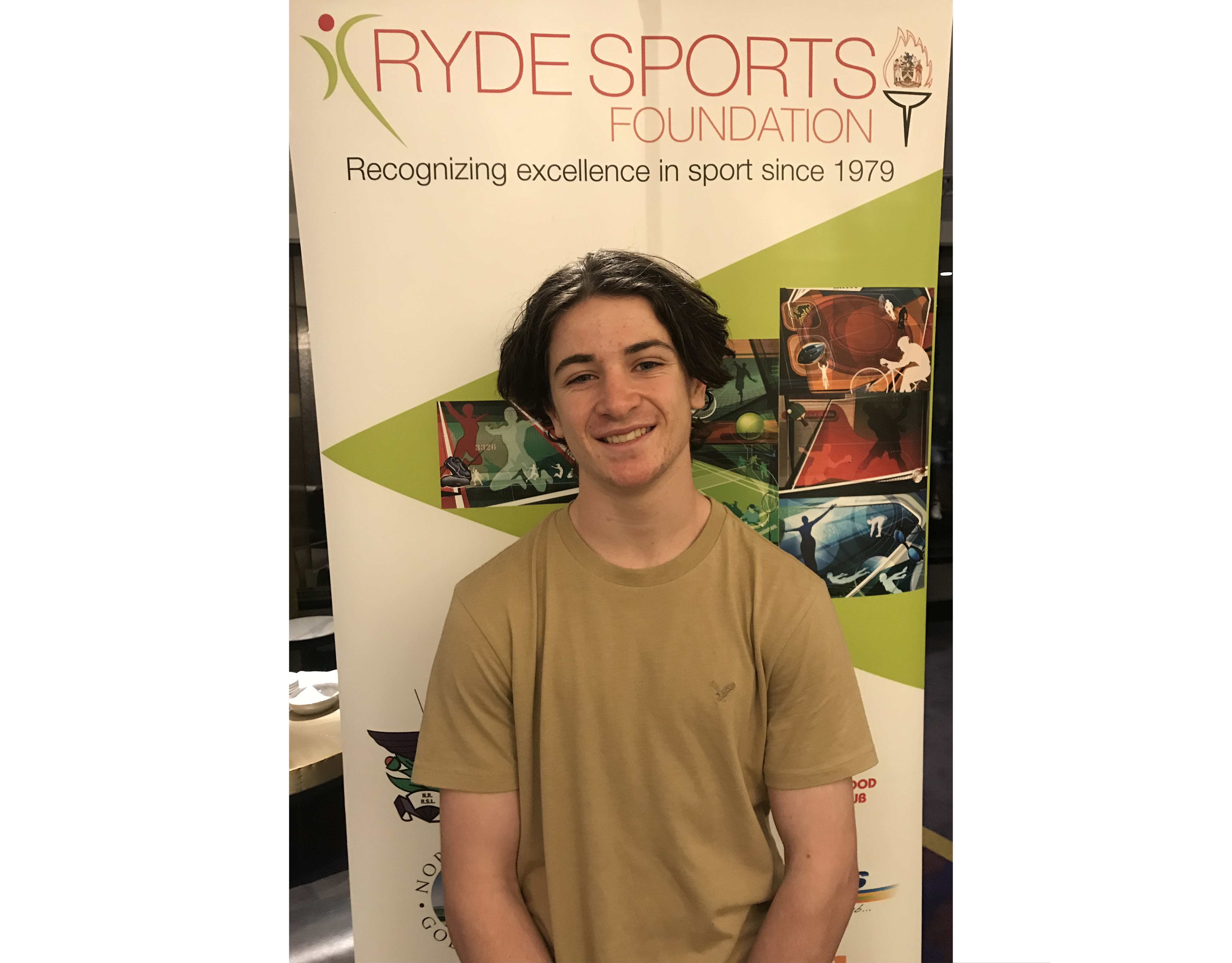 Josh Arcus, Ryde Sports Foundation September 2019 Sports Star
