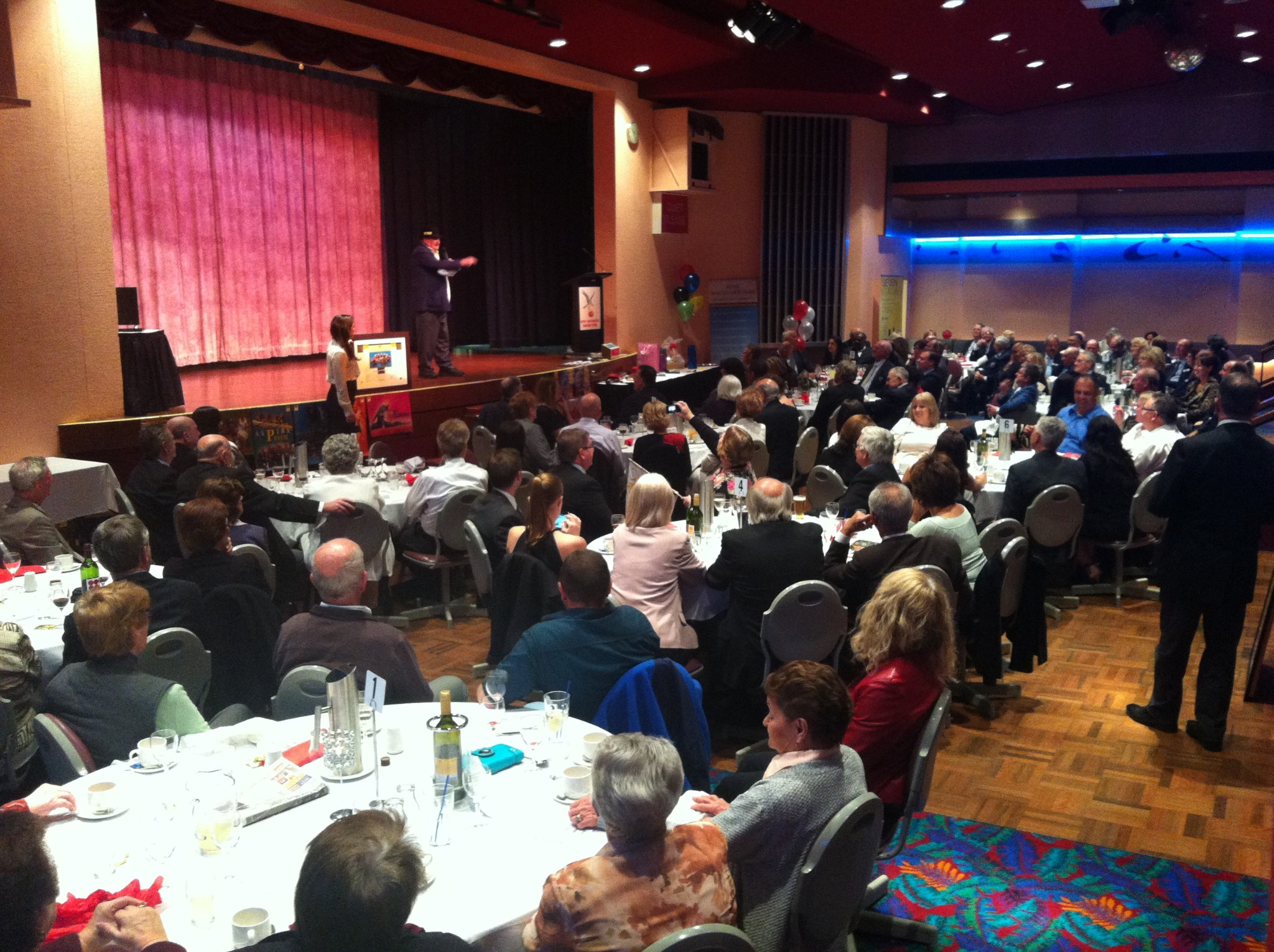 Photo of guests at 2014 Ryde Sports Foundation Gala Dinner